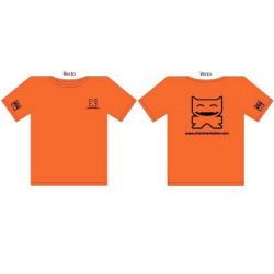 Figuren T-Shirt CS Femme : Orange (S/36) CharacterStation Genf Shop Schweiz