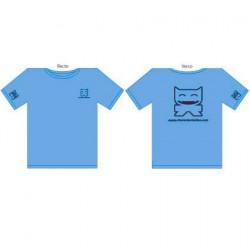 T-Shirt CS Femme : Bleu Turquoise (S/36)
