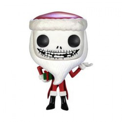 Pop The Nightmare Before Christmas Santa Jack Skellington