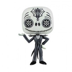 Pop The Nightmare Before Christmas Day Of The Dead Jack Skellington (Rare)
