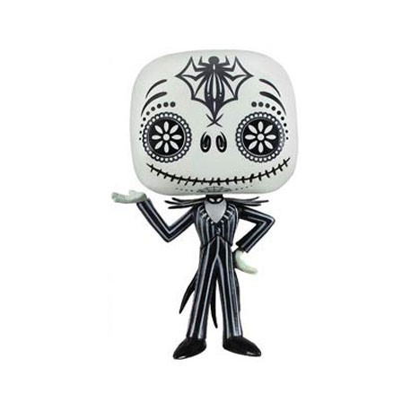 Figur Pop! The Nightmare Before Christmas Day Of The Dead Jack Skellington Rare Funko Funko Pop! Geneva