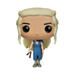 Figuren Pop TV Game of Thrones Mhysa Daenerys Targaryen In Blue Dress (Rare) Funko Genf Shop Schweiz