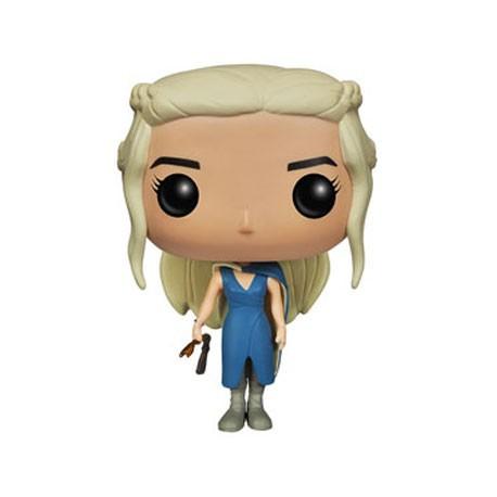 Figuren Pop TV Game of Thrones Mhysa Daenerys Targaryen im Blauen Kleid (Selten) Funko Genf Shop Schweiz