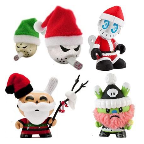 Figurine Pack de Noël (5 pièces) Kidrobot Boutique Geneve Suisse