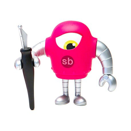 Figur Sketchbot Magenta Solid Geneva Store Switzerland