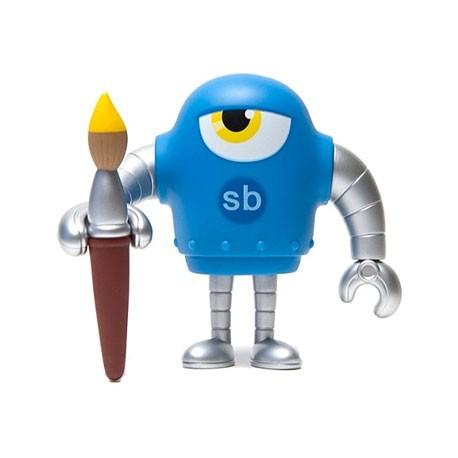 Figur Sketchbot Cyan Geneva Store Switzerland