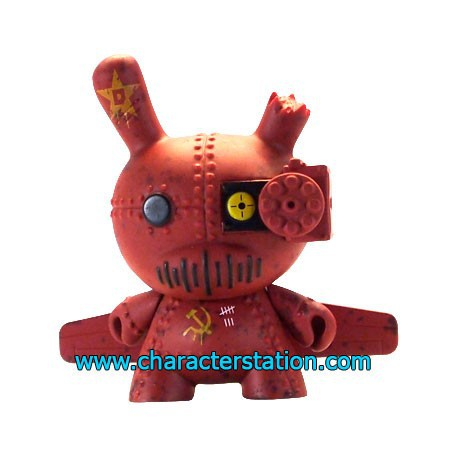 Figur Art of War Dunny 4 by DrilOne Kidrobot Dunny and Kidrobot Geneva
