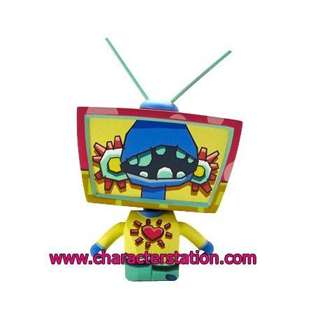 Figurine TV Head par Cameron Tiede Kaching Brands Boutique Geneve Suisse