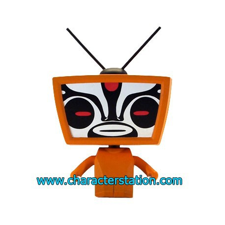 Figurine TV Head par Toby HK Kaching Brands Boutique Geneve Suisse