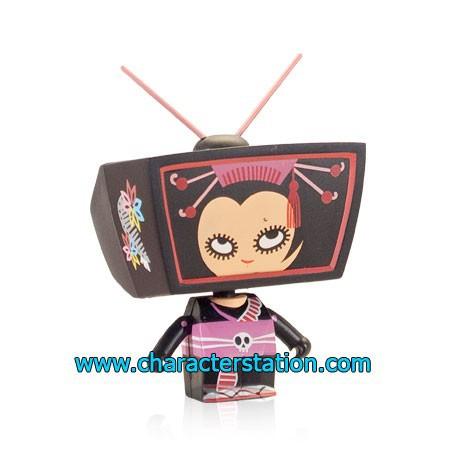 Figurine TV Head par Mizna Wada Kaching Brands Boutique Geneve Suisse