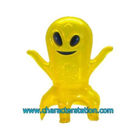 Figurine Ghost Land Peg-Leg Jaune par Brian Flynn Super7 Boutique Geneve Suisse