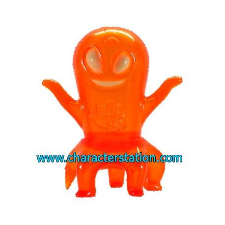 Figur Ghost Land Peg-Leg Orange by Brian Flynn Opened box Geneva