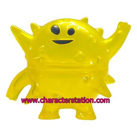 Figur Ghost Land Blowfish Yellow by Brian Flynn Opened box Geneva