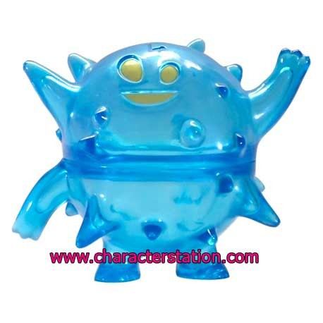 Figur Ghost Land Blowfish Blue by Brian Flynn Opened box Geneva