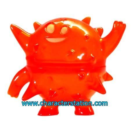 Figur Ghost Land Blowfish Orange by Brian Flynn Geneva Store Switzerland
