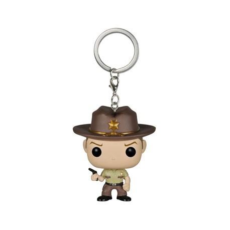 Figur Pop Pocket Keychain The Walking Dead Rick Grimes Funko Geneva Store Switzerland