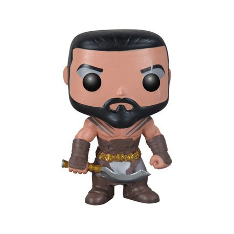Figur Pop Game of Thrones Khal Drogo Funko Geneva Store Switzerland