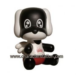 Figuren Baby Qee Budweiser Dog Toy2R Qee Genf