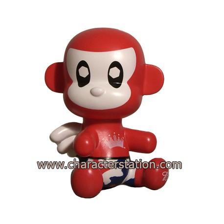 Figur Baby Qee Budweiser Monkey Toy2R Geneva Store Switzerland