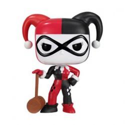 Figurine Pop DC Universe Harley Quinn avec Mallet Funko Boutique Geneve Suisse