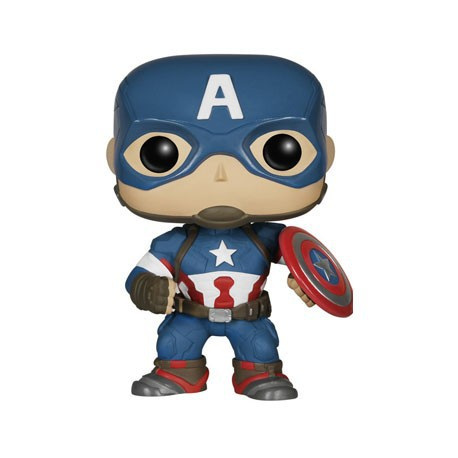 Figur Pop! Marvel Avengers Age Of Ultron Captain America Funko Preorder Geneva