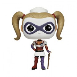 Figurine Pop Jeux Vidéo Arkham Asylum Nurse Harley Quinn (Rare) Funko Boutique Geneve Suisse