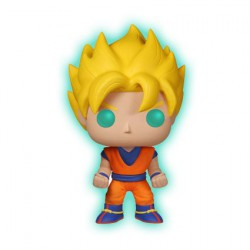 Figur Pop! Dragon Ball Z Glow-in-the-Dark Super Saiyan Goku Funko Geneva Store Switzerland