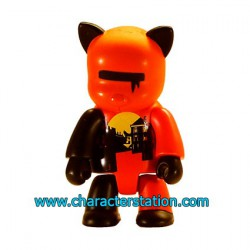 Figur Qee 2004 by Wood Orange Toy2R Geneva Store Switzerland