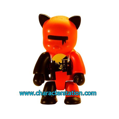 Figur Qee 2004 by Wood Orange Toy2R Qee Geneva