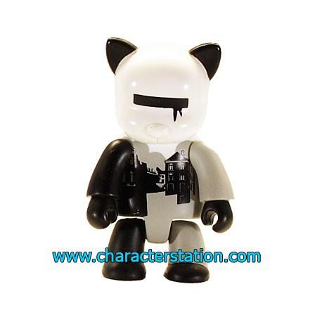Figurine Qee 2004 par Wood Blanc Toy2R Boutique Geneve Suisse
