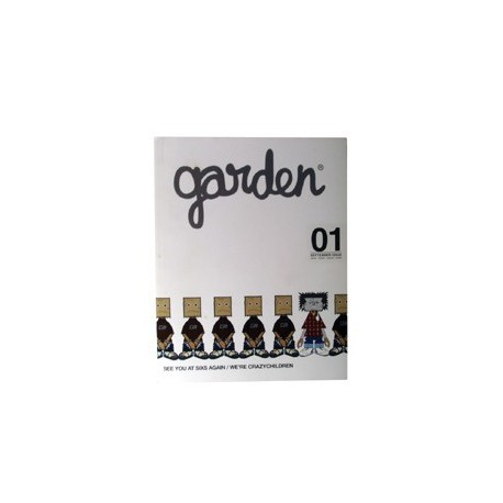 Figur Garden Magazine 01 Crazysmiles Books - Prints Geneva