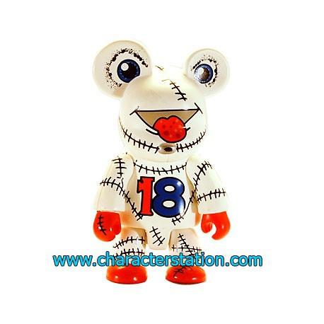 Figur Qee 2004 by Joe Lo White Toy2R Qee Geneva