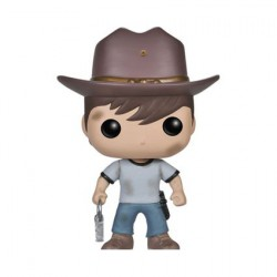 Figurine Pop The Walking Dead Carl (Vaulted) Funko Boutique Geneve Suisse