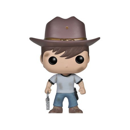 Figurine Pop The Walking Dead Carl (Vaulted) Funko Boutique Geneve Suisse