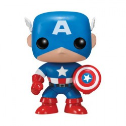 Pop Marvel Captain America (Rare)