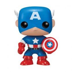 Figurine Pop Marvel Captain America (Rare) Funko Boutique Geneve Suisse