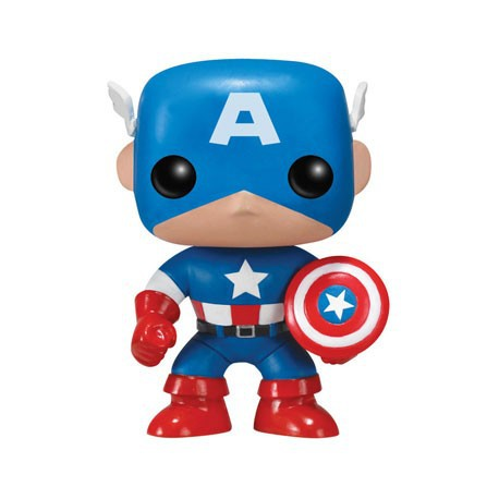 Figur Pop Marvel Captain America (Vaulted) Funko Geneva Store Switzerland