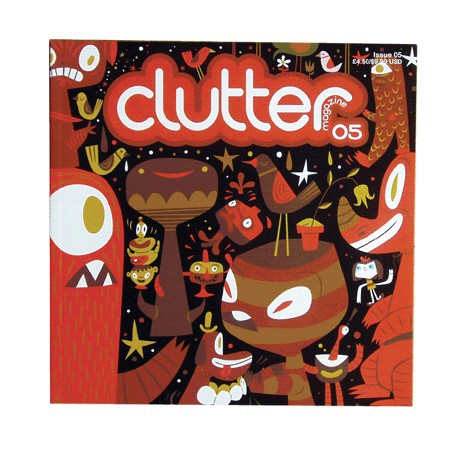 Figurine Clutter Magazine 05 Clutter Magazine Boutique Geneve Suisse