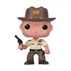 Pop The Walking Dead Rick Grimes (Vaulted)