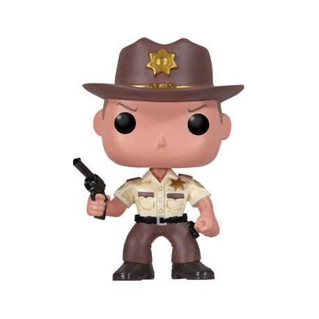 Figurine Pop The Walking Dead Rick Grimes (Vaulted) Funko Boutique Geneve Suisse