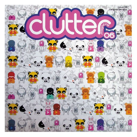 Figurine Clutter Magazine 06 Clutter Magazine Boutique Geneve Suisse