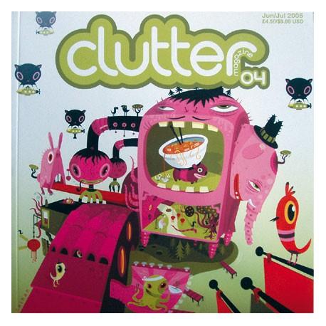 Figurine Clutter Magazine 04 Clutter Magazine Livres - Prints Geneve