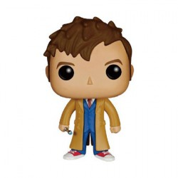 Figurine Pop Dr. Who 10th Doctor (Vaulted) Funko Boutique Geneve Suisse