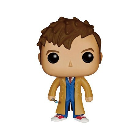 Figur Pop Dr. Who 10th Doctor (Vaulted) Funko Funko Pop! Geneva