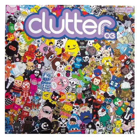 Figur Clutter Magazine 03 Clutter Magazine Books - Prints Geneva