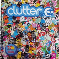 Figur Clutter x Toy2r Special Edition Book Clutter Magazine Geneva Store Switzerland