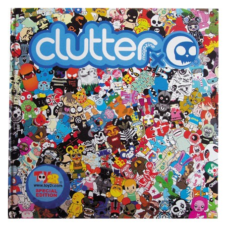 Figurine Clutter x Toy2r Special Edition Book Clutter Magazine Livres - Prints Geneve