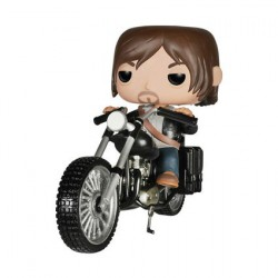 Figurine Pop Rides The Walking Dead Daryl Chopper (moto) Funko Boutique Geneve Suisse
