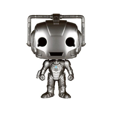 Figurine Pop Dr. Who Cyberman (Vauted) Funko Boutique Geneve Suisse