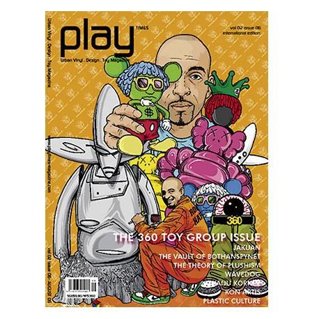Figur Play Times volume 02 issue 06 Play Imaginative Geneva Store Switzerland
